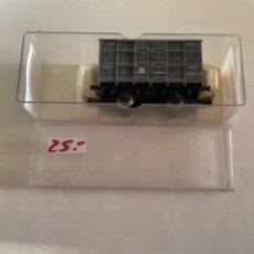 Trenes Escala: ELECTROTREN. HO. REF 1930B JAULA GANADO GRIS ANDALUCES. Lote 284644473