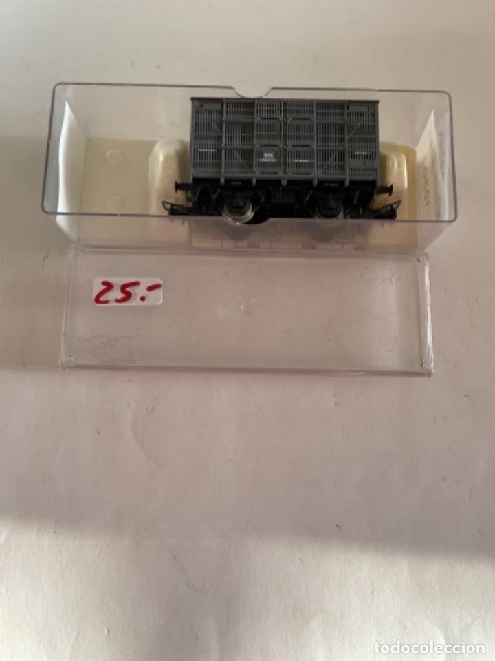 ELECTROTREN. HO. REF 1930B JAULA GANADO GRIS ANDALUCES (Juguetes - Trenes Escala H0 - Electrotren)