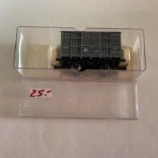 Trenes Escala: ELECTROTREN. HO. REF 1930B JAULA GANADO GRIS ANDALUCES. Lote 284644578
