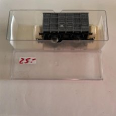 Trenes Escala: ELECTROTREN. HO. REF 1930B JAULA GANADO GRIS ANDALUCES. Lote 284644828