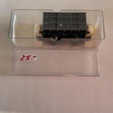 Trenes Escala: ELECTROTREN. HO. REF 1930B JAULA GANADO GRIS ANDALUCES. Lote 284644913