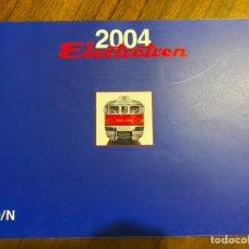 Trenes Escala: ELECTROTREN CATÁLOGO AÑO 2004 H0 / N. Lote 284660653