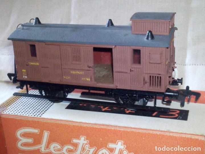 Trenes Escala: ~~~~ VAGÓN MERCANCIAS EN SU CAJA, ELECTROTREN ESCALA H0~~~~ - Foto 2 - 287039023