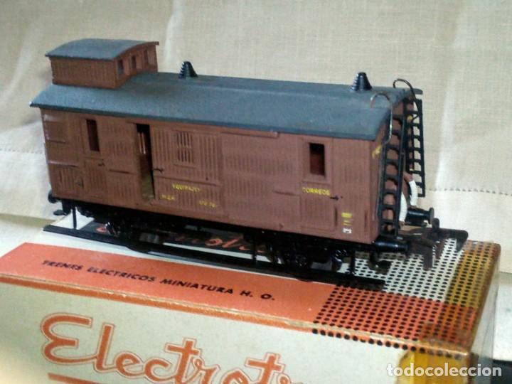 Trenes Escala: ~~~~ VAGÓN MERCANCIAS EN SU CAJA, ELECTROTREN ESCALA H0~~~~ - Foto 7 - 287039023