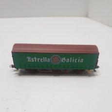 Trenes Escala: VAGON ESTRELLA GALICIA ELECTROTREN. Lote 287357273