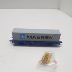 Trenes Escala: VAGON MAERSK ELECTROTREN HO. Lote 287357848