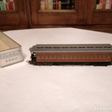Trenes Escala: ELECTROTREN H0 5000 VAGÓN DE PASAJEROS COSTA MZA RENFE OVP. Lote 287613203