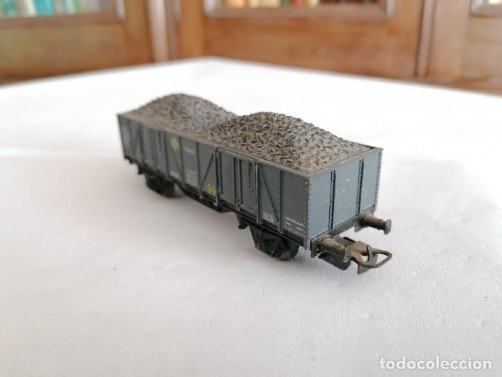 Trenes Escala: Electrotren H0 Vagón de Borde Alto con Carbón Renfe Años 60 - Foto 2 - 287617373