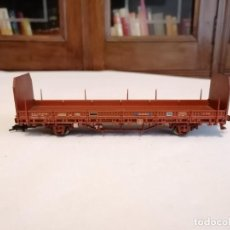 Trenes Escala: ELECTROTREN H0 VAGÓN CARGA TRANSFESA RENFE PERFECTO ESTADO. Lote 287619523