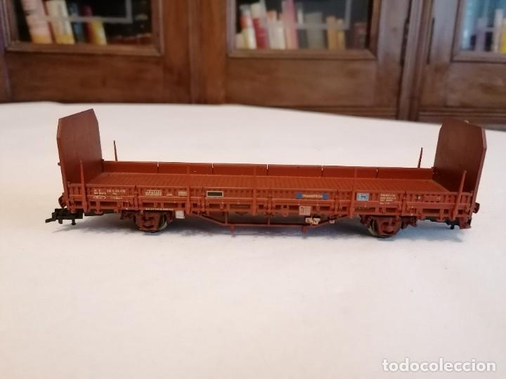 Trenes Escala: Electrotren H0 Vagón Carga Transfesa Renfe Perfecto Estado - Foto 3 - 287619523