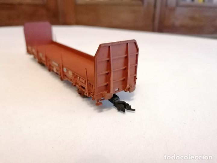 Trenes Escala: Electrotren H0 Vagón Carga Transfesa Renfe Perfecto Estado - Foto 4 - 287619523