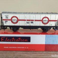 Trenes Escala: ELECTROTREN H0 VAGÓN FRIGORÍFICO, DE TRANSFESA, REFERENCIA 1305.. Lote 287654498