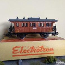 Trenes Escala: ELECTROTREN H0 COCHE DE VIAJEROS *COSTAS CORTO* DE MZA LUEGO RENFE, REFERENCIA 1500.. Lote 287732098