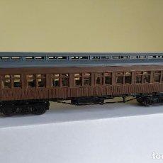 Trenes Escala: ELECTROTREN H0 COCHE DE VIAJEROS *COSTAS* DE MZA LUEGO RENFE, REFERENCIA 5000.. Lote 287820363