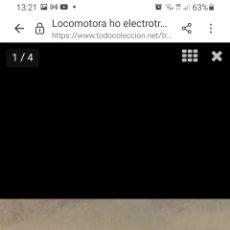 Trenes Escala: HO ELECTROTREN 2353 VIRGEN MACARENA LOCOMOTORA ANALÓGICA NUEVA. Lote 287865223