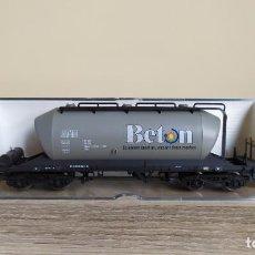 Trenes Escala: ELECTROTREN H0 VAGÓN TOLVA PARA CEMENTO *BETON*, DE LA DB, REFERENCIA 5407 K.. Lote 287916023