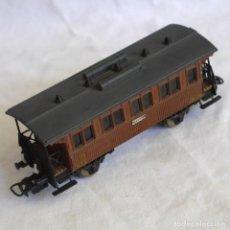 Trenes Escala: VAGÓN DE PASAJEROS ELECTROTREN M.Z.A. III MADRID 1072 H0. Lote 287992403