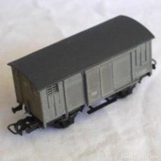 Trenes Escala: VAGON DE MERCANCIAS ELECTROTREN RN, ESCALA H0. Lote 287992658