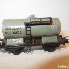Trenes Escala: ELECTROTREN VAGON CISTERNA BP,BUEN ESTADO,BARATO. Lote 288383953