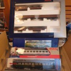 Trenes Escala: ¡¡¡OFERTA!!!..LOC.RENFE 4000 ROCO DIG.SONIDO Y 9 VAGONES. Lote 289355843