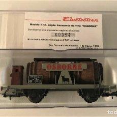Trenes Escala: ELECTROTREN - VAGÓN CUBAS OSBORNE (REF. 813). Lote 289478598