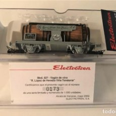 Trenes Escala: ELECTROTREN - VAGÓN CUBAS VIÑA TONDONIA (REF. 827). Lote 289482953