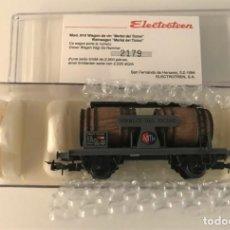 Trenes Escala: ELECTROTREN - VAGÓN CUBAS MERLOT DE TICINO (REF. 819). Lote 289484268