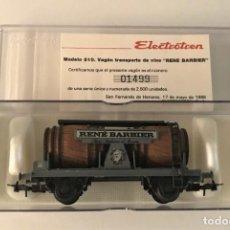 Trenes Escala: ELECTROTREN - VAGÓN CUBAS RENE BARBIER (REF. 810). Lote 289484838