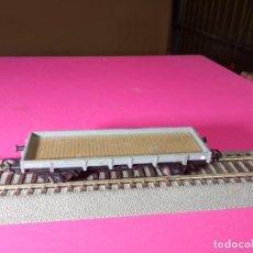 Treni in Scala: VAGÓN BORDE BAJO ESCALA HO DE ELECTROTREN. Lote 290912548