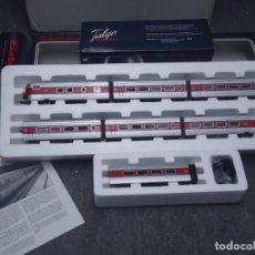 Trenes Escala: ELECTROTREN TALGO III, ÈPOCA-4, HO, SEIS COCHES + CAFETERÍA, PERFECTO ESTADO. ENVÍO GRATIS.. Lote 294969373