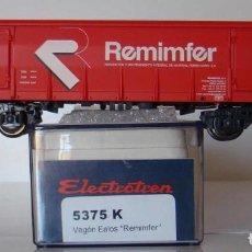 Trenes Escala: ELECTROTREN VAGON EALOS REMIMFER RENFE REF: 5375 ESCALA H0. Lote 295453088