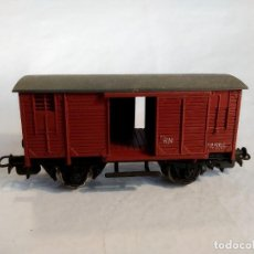 Trenes Escala: ELECTROTREN 805. VAGÓN CERRADO CON PUERTAS CORREDERAS. ESCALA H0. Lote 296890373