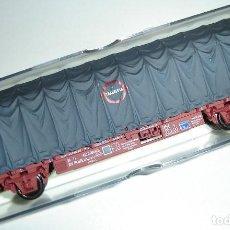 Trenes Escala: VAGON RENFE CON TOLDO TRANSFESA ELECTROTREN ESCALA HO REF 1435K. Lote 296901218