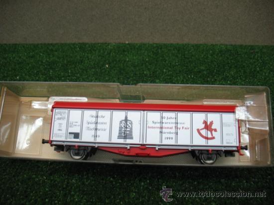 (FLEISCHMANN) VAGON MERCANCIAS CERRADO H0 --- REF: 995371 K (Juguetes - Trenes Escala H0 - Fleischmann H0)
