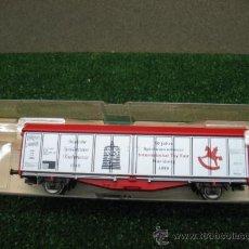 Trenes Escala: (FLEISCHMANN) VAGON MERCANCIAS CERRADO H0 --- REF: 995371 K. Lote 21511231