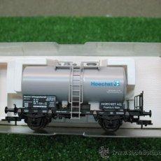 Trenes Escala: (FLEISCHMANN) VAGON MERCANCIAS CISTERNA REF: 5417K --- H0. Lote 21954645