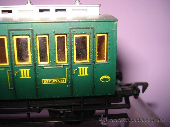 Trenes Escala: Coche Viajeros 3 ejes 3ª Clase de Compartimentos de FLEISCHMANN en *H0* - Foto 2 - 27224798