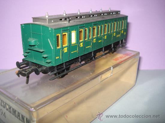 Trenes Escala: Coche Viajeros 3 ejes 3ª Clase de Compartimentos de FLEISCHMANN en *H0* - Foto 6 - 27224798