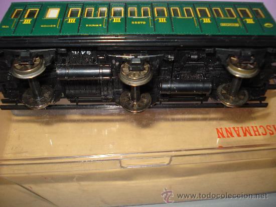 Trenes Escala: Coche Viajeros 3 ejes 3ª Clase de Compartimentos de FLEISCHMANN en *H0* - Foto 5 - 27224798