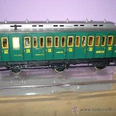 Trenes Escala: COCHE VIAJEROS 3 EJES 3ª CLASE DE COMPARTIMENTOS DE FLEISCHMANN EN *H0*. Lote 27224798