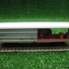 Trenes Escala: FLEISCHMANN REF: 5335 - VAGON DE MERCANCIAS CERRADO- H0. Lote 25521253