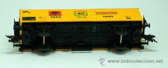 Trenes Escala: Vagón mercancias Fleischmann escala H0 1952 1992 - Foto 3 - 25622841