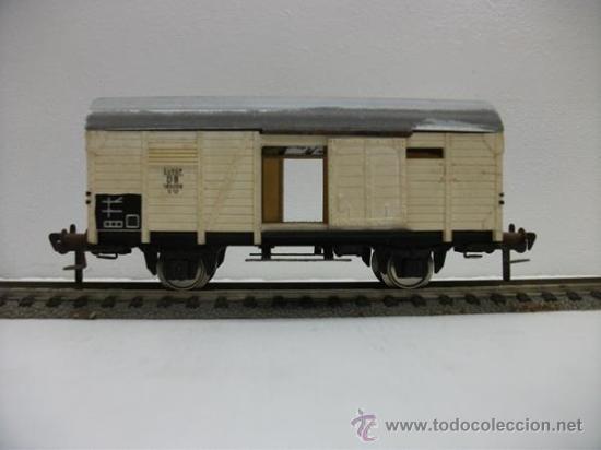 VAGON DE MERCANCIAS CERRADO DE LA DB FLEISCHMANN H0 (Juguetes - Trenes Escala H0 - Fleischmann H0)