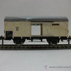 Trenes Escala: VAGON DE MERCANCIAS CERRADO DE LA DB FLEISCHMANN H0. Lote 27211971