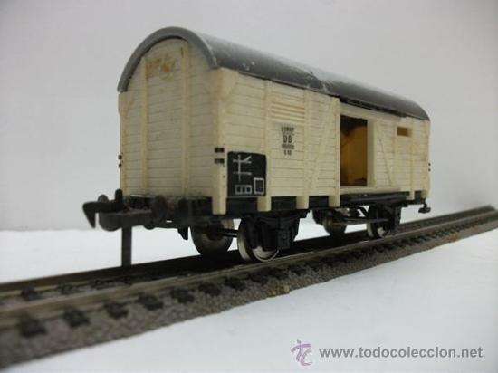 Trenes Escala: VAGON DE MERCANCIAS CERRADO DE LA DB FLEISCHMANN H0 - Foto 2 - 27211971