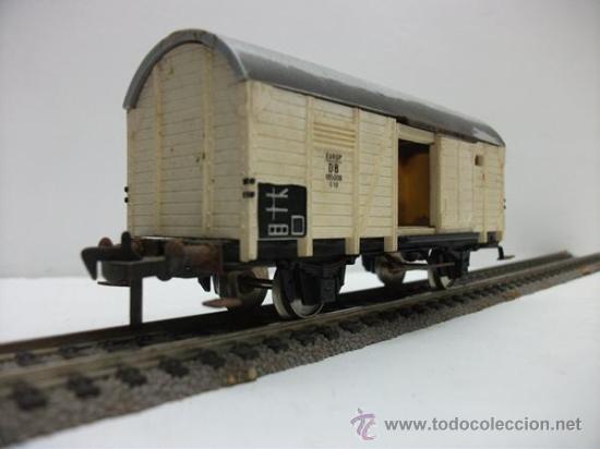Trenes Escala: VAGON DE MERCANCIAS CERRADO DE LA DB FLEISCHMANN H0 - Foto 2 - 27211925