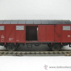 Trenes Escala: FLEISCHMANN -VAGON DE MERCANCIAS CERRADO-ESCALA H0-. Lote 28840036