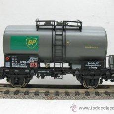 Trenes Escala: FLEISCHMANN REF:5412 K -VAGON CISTERNA DE LA BP -ESCALA H0-. Lote 29736173