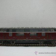 Trenes Escala: FLEISCHMANN REF: 1381- LOCOMOTORA DIESEL DE LA DB C.C ( DEUTSCHE BUNDESBAHN ) ESCALA H.0 . Lote 29748135
