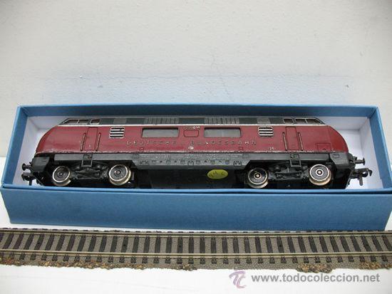 Trenes Escala: FLEISCHMANN REF: 1381- LOCOMOTORA DIESEL DE LA DB C.C ( DEUTSCHE BUNDESBAHN ) ESCALA H.0 - Foto 6 - 29748135